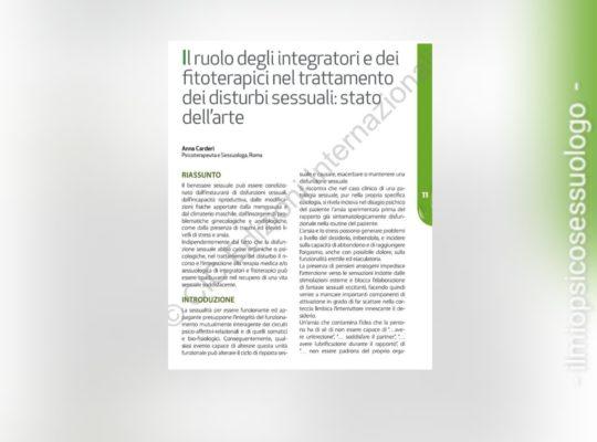 fitoterapici e disfunzione erettile